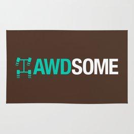 AWDSOME v3 HQvector Rug
