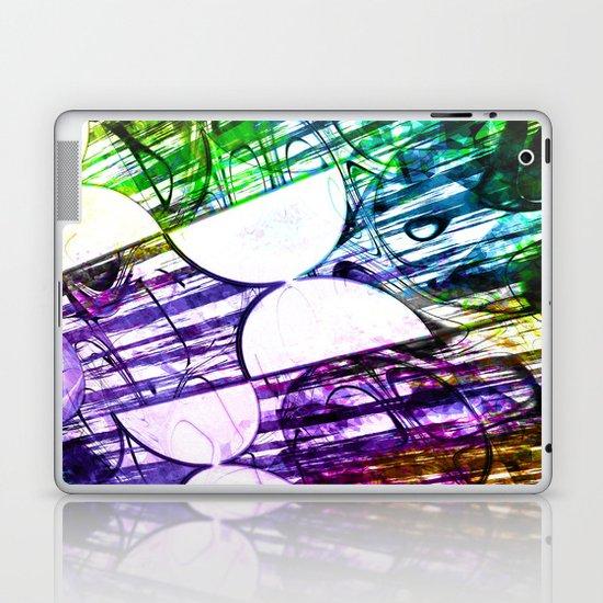 Half circles Laptop & iPad Skin