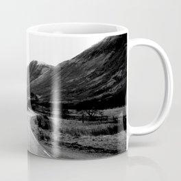 Road through the Glen - B/W Coffee Mug