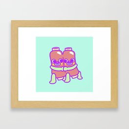 Ribs Framed Art Print