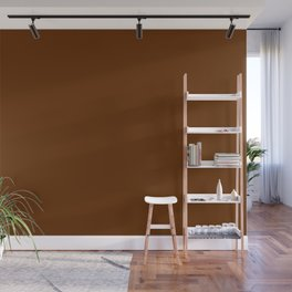 Delirious Place ~ Gingerbread Brown Wall Mural