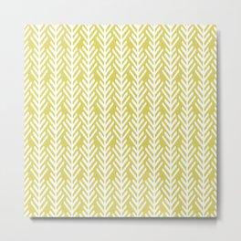 Olive Arrows Metal Print
