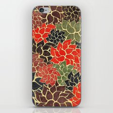 Floral Abstract 17 iPhone & iPod Skin