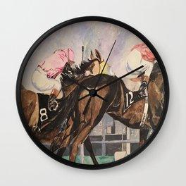 Stretch Run Wall Clock