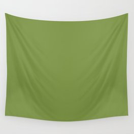 Color of the day Designer Colors  - Peridot - Green Wall Tapestry