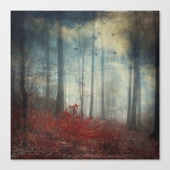 open woodland dreams Canvas Print