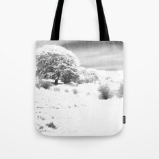 Haresfield In The Snow Tote Bag