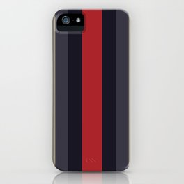 High Fashion Designer Style Stripes iPhone Case