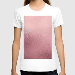 Pure Rose Gold Pink T-shirt