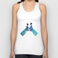 holiday Tank Tops featuring Holiday by Laura O'Connor