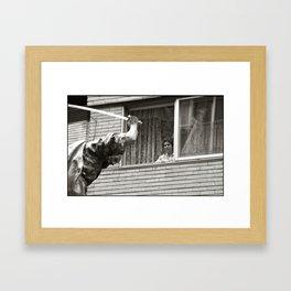 Testigo / Witness Framed Art Print