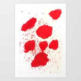 SPLATZ Art Print