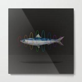 flying sardine Metal Print