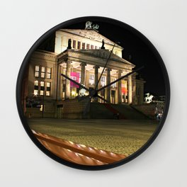 Das Konzerthaus Gendarmenmarkt Wall Clock