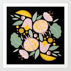 FoodFlora Art Print