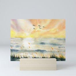 Sunset Mini Art Print