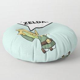 I'm not Zelda! (link from legend of zelda) Floor Pillow