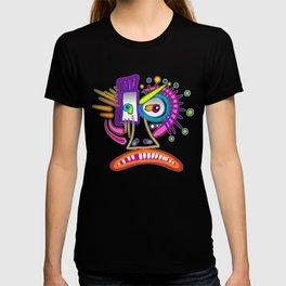 TRIBAL FROWNIE EMOJI ART Meemogie T-shirt