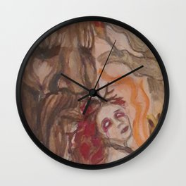 AutumnUnseelie Wall Clock
