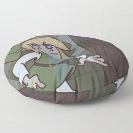 Hey! Listen! Floor Pillow