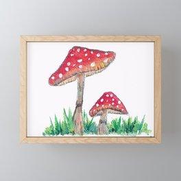 two Framed Mini Art Print