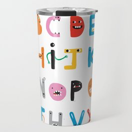 ABC The Monster Alphabet Travel Mug