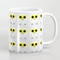 hedwig Mugs featuring Hedwig by Jessie Upward