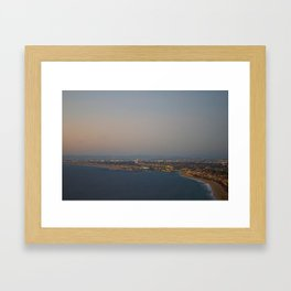 The view of the riches Framed Art Print