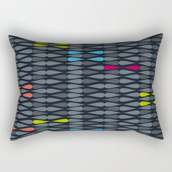 dropsstripes Rectangular Pillow
