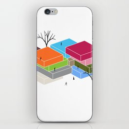 DL+A Spaces iPhone Skin