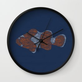 Clownfish Wall Clock