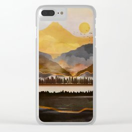 Pure Wilderness at Dusk Clear iPhone Case