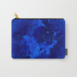 Fish Illustration (Goldfish) Carry-All Pouch