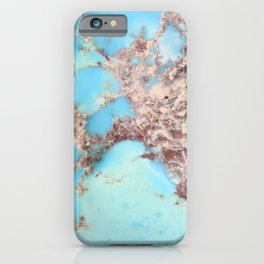 Rugged Turquoise Nugget iPhone Case