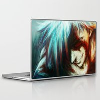 gurren lagann Laptop & iPad Skins featuring Gurren Lagan by ururuty