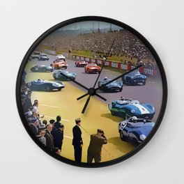 24 Hours of Le Mans 1960 Wall Clock