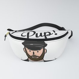 Beard Boy: Leather Pup Fanny Pack