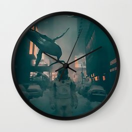 Inhabitants Wall Clock