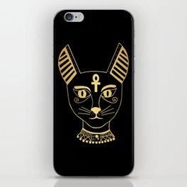 Cat goddess - Bastet iPhone Skin