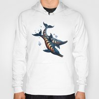rogue Hoodies featuring Rogue Dolphins by Alexa Shamshoian