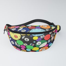 Circle Collage Fanny Pack