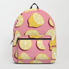 Lemon Pattern 07 Backpack