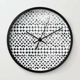 Glimmering Sea Water Mosaic Wall Clock