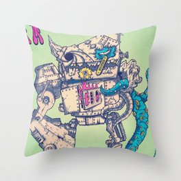 Helplessness Demon Throw Pillow