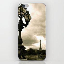 A Night In Paris iPhone Skin