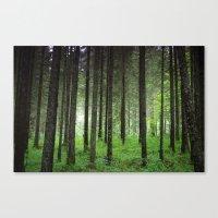 woods Canvas Prints featuring Woods. by zenitt
