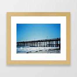 The Pier 01 Framed Art Print