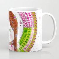 virgo Mugs featuring Virgo by Sandra Nascimento