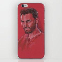 Derek in Red iPhone Skin