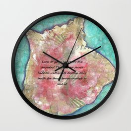 Conch beat the truth Wall Clock